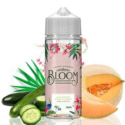 Bloom - Cucumber Cantaloupe 100ml Shortfill