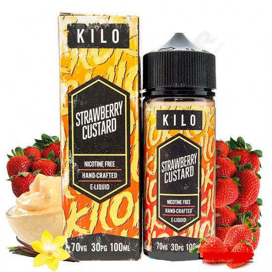 Kilo - Strawberry Custard 100ml Shortfill