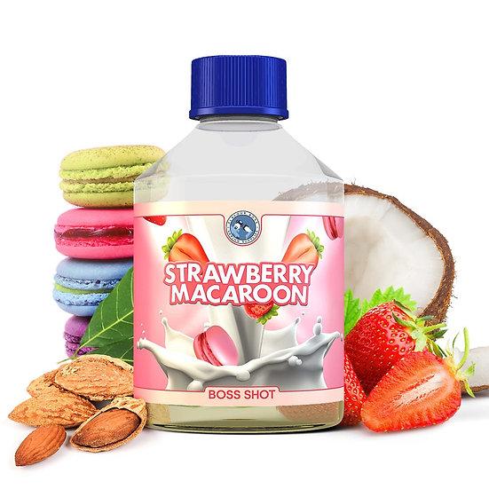 Flavour Boss - Strawberry Macaroon 250ml Flavour Shot