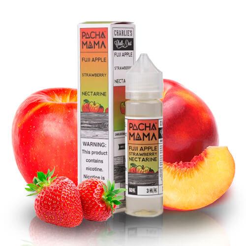 Pacha Mama - Fuji Apple Strawberry Nectarine 50ml Shortfill