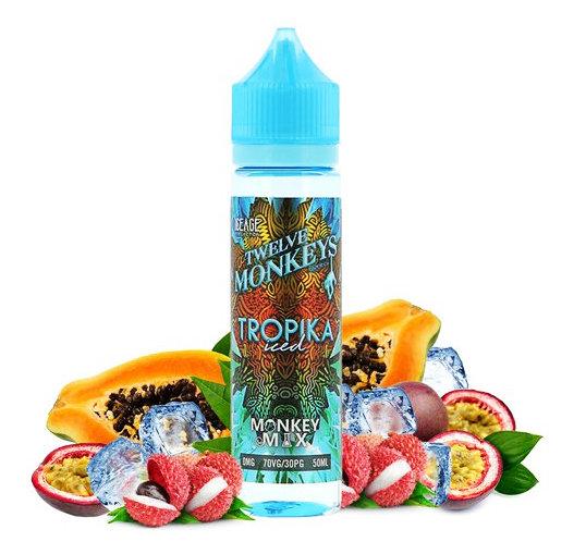 Twelve Monkeys - Tropika Iced 50ml Shortfill