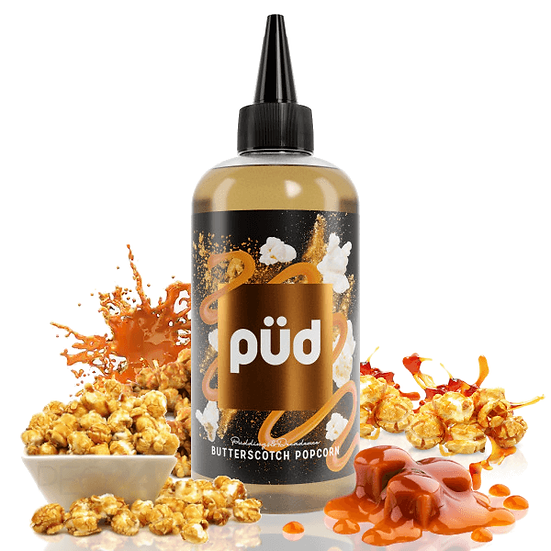 PÜD - Butterscotch Popcorn 200ml Shortfill