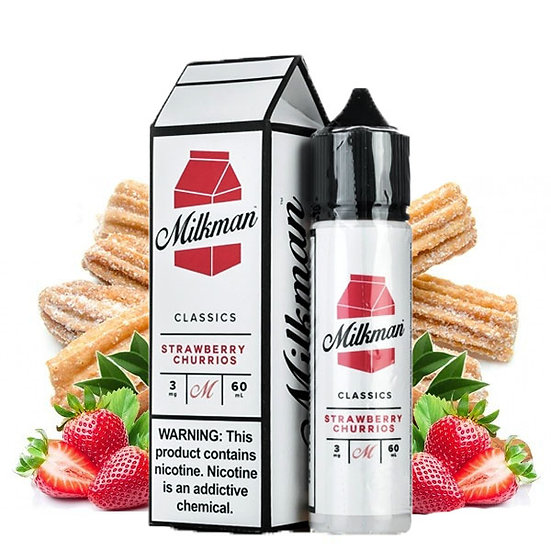 Milkman Classics - Strawberry Churros 50ml Shortfill