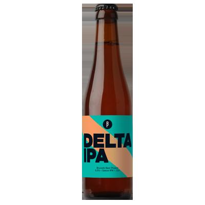 Delta 330ml bottle – Brussels Beer Project