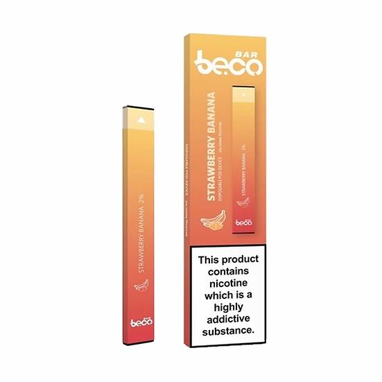 Vaptio Beco Bar - Disposable Pod Device Strawberry Banana 20mg