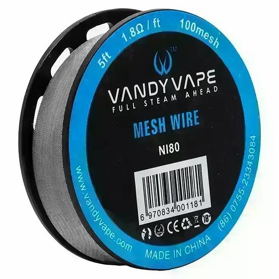 Vandy Vape Mesh Ni80 Wire 1.8Ω 1.5M