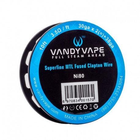 Vandy Vape Superfine MTL Fused Clapton Wires