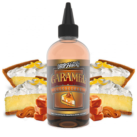 Drip Hacks - Caramel Cheesecake 250ml Flavour Shot