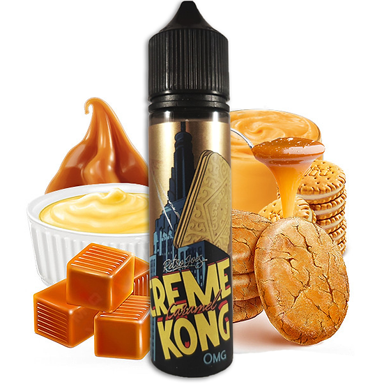 Joe's Juice - Creme Kong Caramael 50ml Shortfill