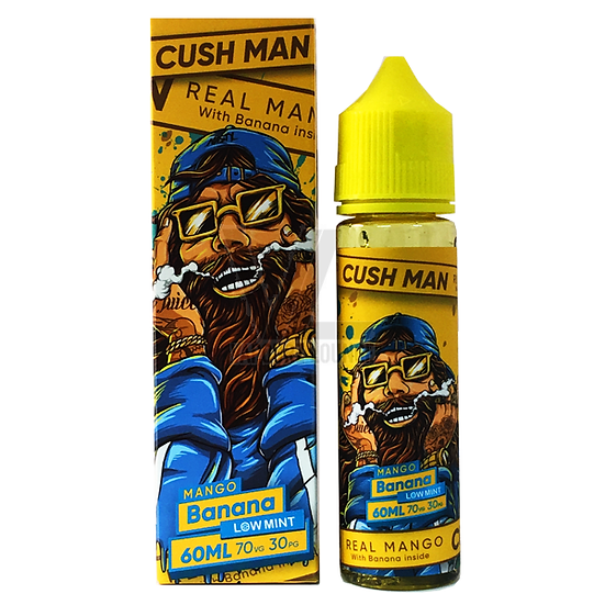 Cush Man - Mango Banana 50ml Shortfill