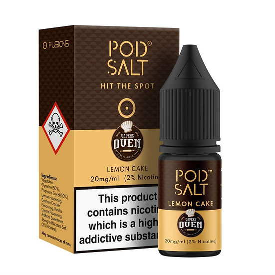 Pod Salt - Lemon Cake 20mg 20ml