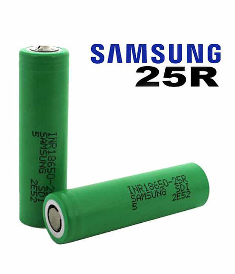 Samsung 25R 18650 2500 Mah