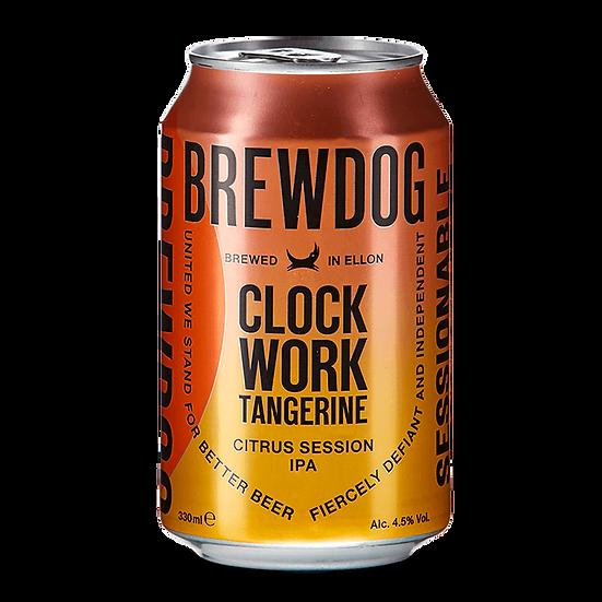 Clockwork Tangerine 330ml can – BrewDog