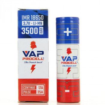 Accu IMR Power 18650 3500mah Vap Procell