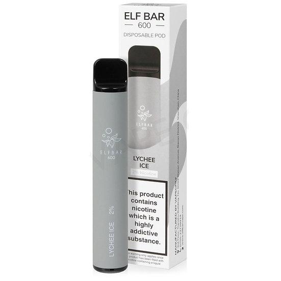Elf Bar 600 - Lychee ice 20mg