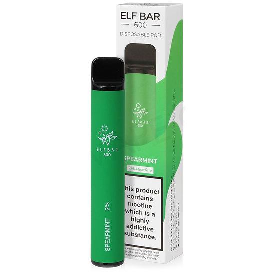 Elf Bar 600 - Spearmint 20mg