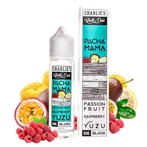 Pacha Mama - Passion Fruit Raspberry Yuzu 50ml Shortfill