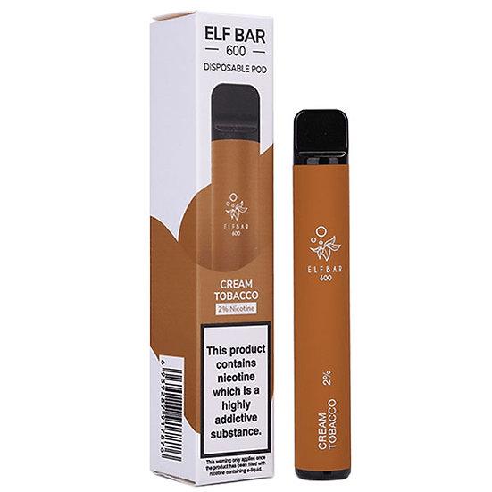 Elf Bar 600 - Cream tobacco 20mg
