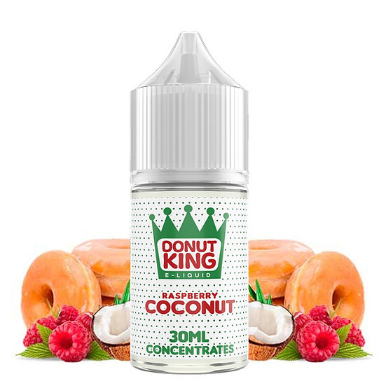 Donut King - Raspberry Coconut 30ml Concentrate