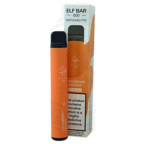 Elf Bar 600 - Strawberry Banana 20mg