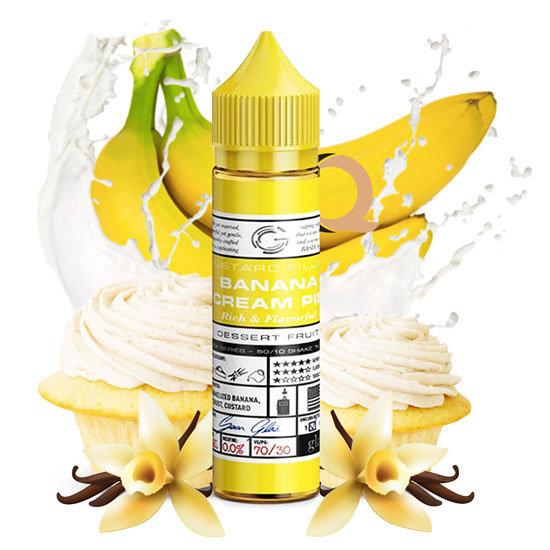 Glas Basix - Custard Filled Banana Cream Pie 50ml Shortfill