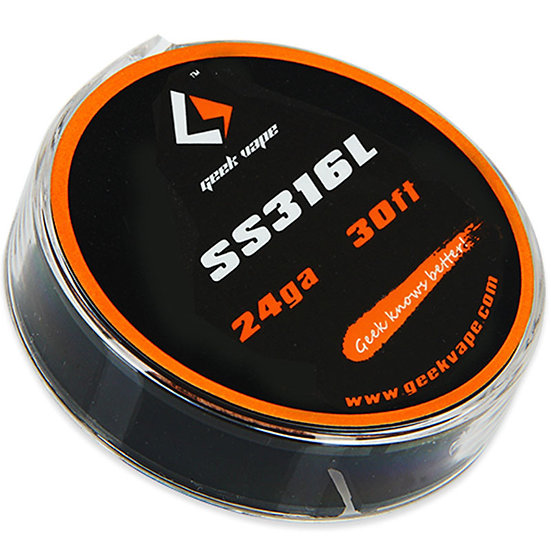 GeekVape SS316L 24GA 30FT