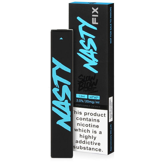 Nasty Fix Slow Blow Disposable Device 20mg 1.3ml