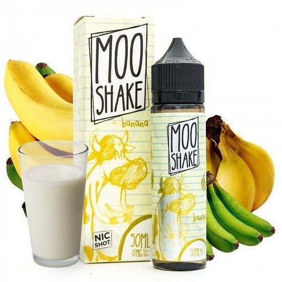 Moo Shake - Banana Shake 50ml Shortfill