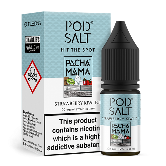 Pod Salt - Pacha Mama Strawberry kiwi ice 20mg