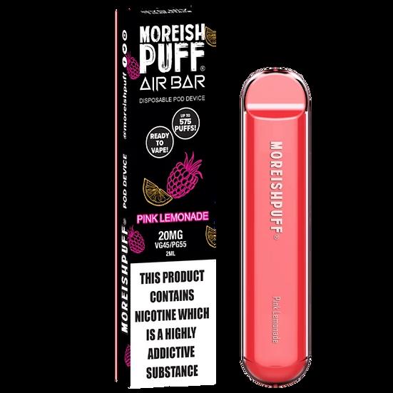 Moreish Puff Air Bar - Pink Lemonade 20mg