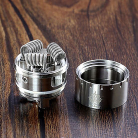 Vape coils are used to heat your vape juice and create vapor. Atomizers are relatively simple in construction - typically consisting of just a coil that is wrapped in wicking material (which absorbs e-liquid).