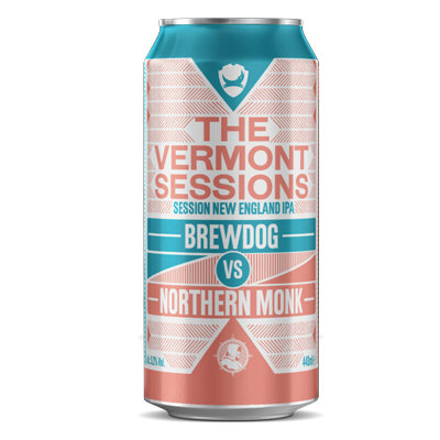 Brewdog Vs Northern Monk Vermont Session NEIPA 440ml can