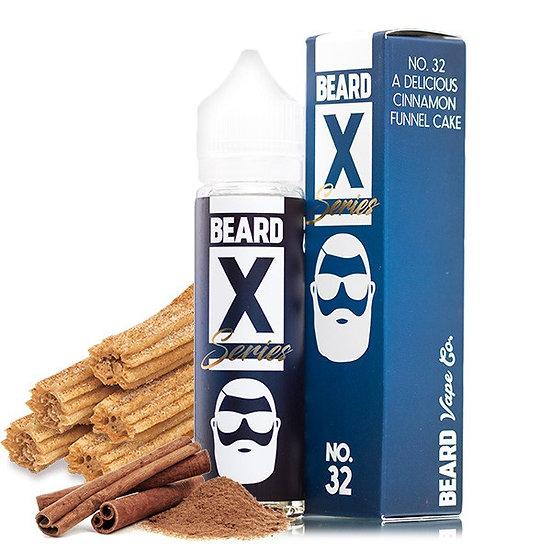 Beard Vape X Series - No 32 50ml Shortfill
