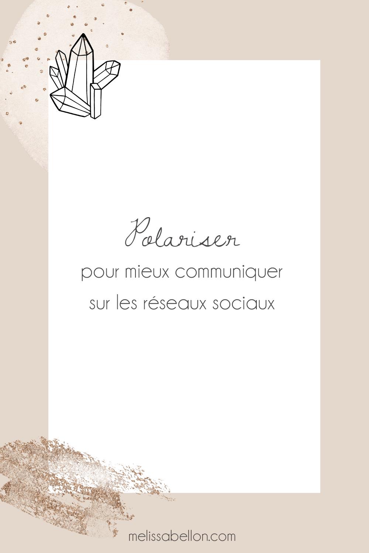 Polariser pour mieux communiquer sur les réseaux sociaux