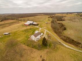 Stately Ohio Farm For Sale, Gorgeous Bank Barn, Historic Farm House.