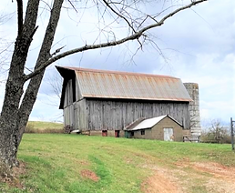 Ohio Hobby Farm for sale 10 acres, Barn and home