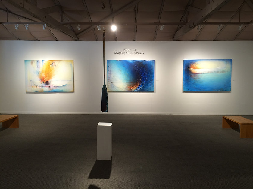 Installation - Navigating the Soul's Journey, Arts on Douglas Gallery, New Smyrna Beach, FL, May 6 - 29, 2017