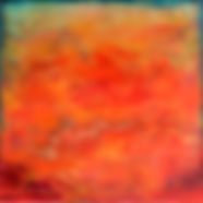 """RED Sky Symphony - Sailor's Delight I"", NSJ, 5"" x 7"" x 1 1/2"", mixed-media encaustic painting"