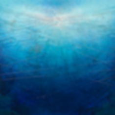 """""""Through Wisdom Waters"""" Series - acrylic mixed-media painting"""