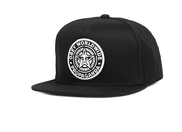 obey patchblack hat