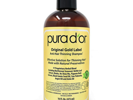 The Real Deal - Pura Dór Gold Label Anti-Thinning Shampoo – Review