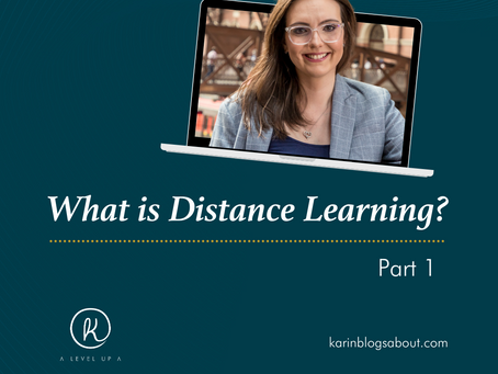 Do you really know what Distance Learning is?