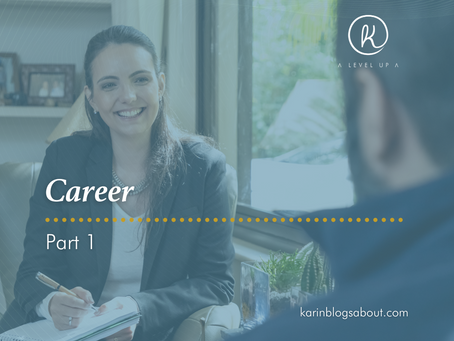 Let's talk about Career!