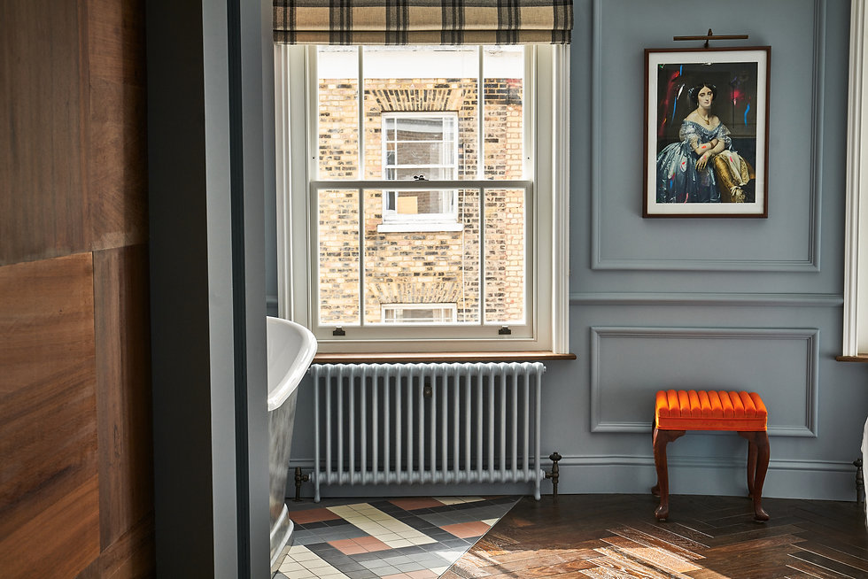 The Muse room The Lost Poet townhouse accommodation 6 Portobello Road Notting