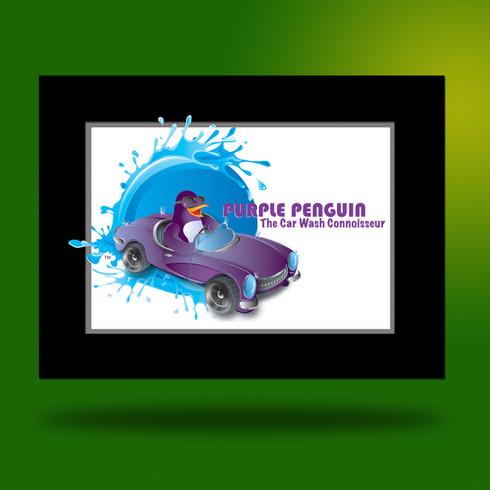 Purple Penguin_Logo Design