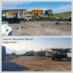 Oquirrh Mountain Footing Collage