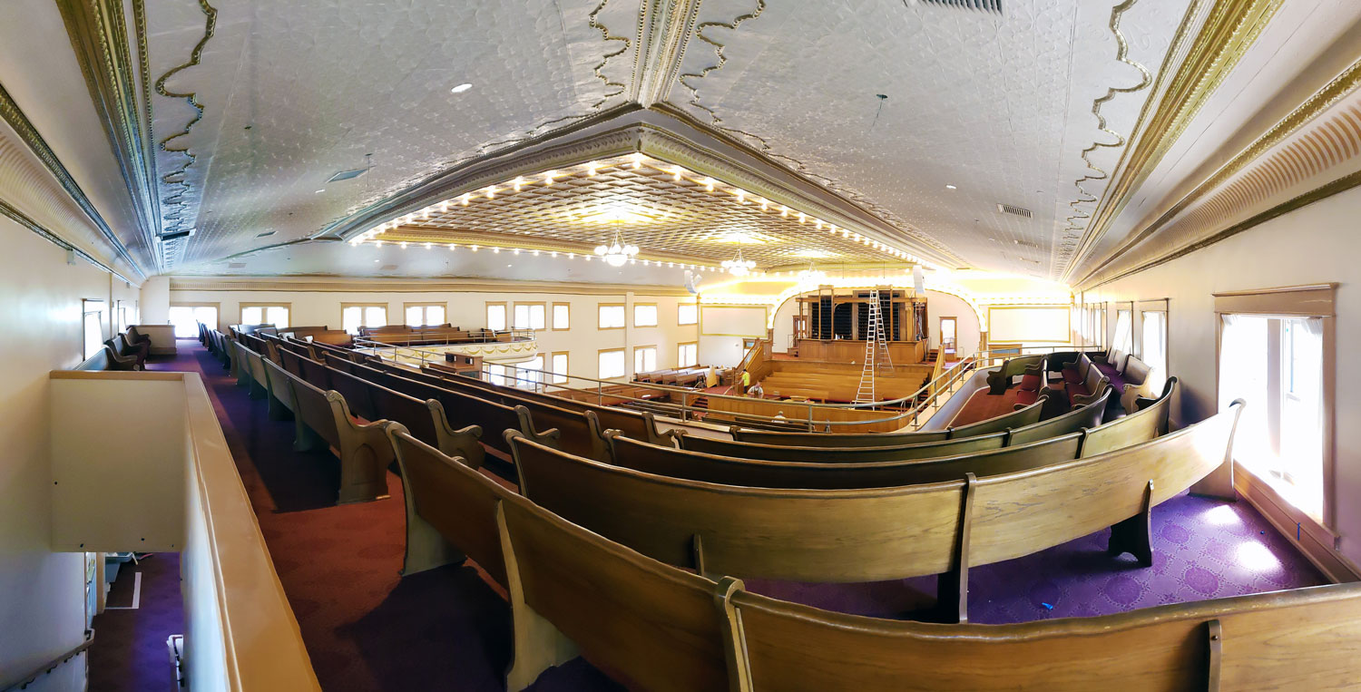 Tabernacle Balcony Panorama