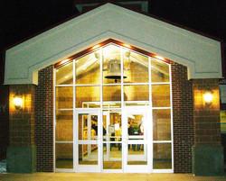 Ashman Elementary at Night