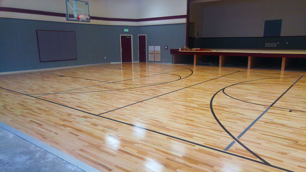 Canyon Ridge Gym Finished