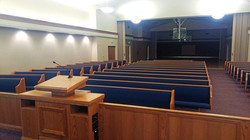 Lakeside Chapel With Pews